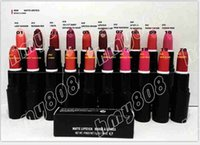 black lipstick - Factory Direct Free dhl Shipping New Makeup Lips Lipstick Black Tube Matte Lipstick g