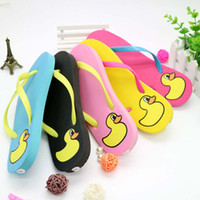 Wholesale Pink Sole Heels - Summer Women Slippers Beach Flip Flops fashion factory outlet Woman slippers PU Vampe Rubber soles Shower Room Flip Flops size 35-40 T06