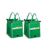 Wholesale Fabric Carts - High quality hot style shopping cart bag non-woven fabric environmental protection shopping bag Large capacity cart shopping bag