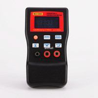 Wholesale Digital Multimeter Capacitance Inductance - Freeshipping High Precision Electronic Capacitance Inductance Meter Digital Bridge LC Meter Multimeter LC RC Oscillation To 100H 100mF