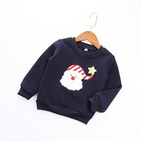 Wholesale New Toddler Kid Baby Girl Xmas Snowman Tops Outwear Pullover Sweatshirt Autumn Coat