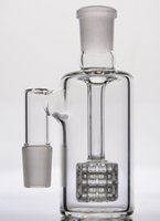 Wholesale Stereo Glasses - In STOCK ashcatcher with stereo matrix perc glass ash catcher with 18 mm joints for glass bong water pipe
