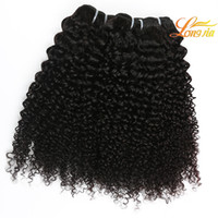 Wholesale Vip Hair Extensions - 7A vip beauty raw indian hair kinky curly hair extensions indian Human hair deep curly weave wholesale indian Virgin human 4 bundles
