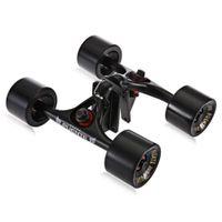 2pcs   Set Skateboard Truck with Skate Wheel Riser Pad Bearing Hardware Accessory Installing Tool for Skateboard New Arrival +B