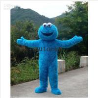 ingrosso costumi di pelliccia del fumetto-Costume del costume del costume del costume della mascotte del mostro della mascotte del mostro della bambola di risata per la festa