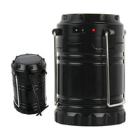 Wholesale Water Resistant Led Lamp - Collapsible Lantern Portable Outdoor LED Camping Lantern Water Resistant Ultra Bright Flashlight Lamp for Hiking Camping Emergency Occasion