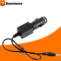 4 Pieces  Lot Travel Car Charger Adapter 3.5mm 12V for LED Flashlight Headlamp Li-ion Battery Torch