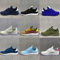 Wholesale Narrow Men Shoes - Originals Pharrell Williams Tennis Hu Running Shoes Fashion Pharrell Williams Summers Racer Sneaker for Women Men Size 36-44