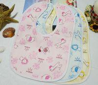 Wholesale Blue Burp Cloths - Cartoon Baby Bib Waterproof Bib Newborn Burp Cloth Saliva Towels
