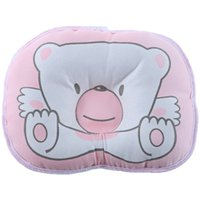 Wholesale Neck Support Pillow Cute - 1 PCS 100% Cotton Newborn Infant children Soft Neck Support Pillow Print Baby Shaping Pillow Cute Cooling Baby Sleeping Pillow