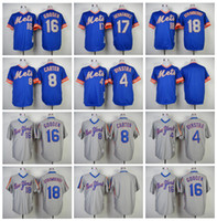Wholesale New York Mets Mens Jerseys Lenny Dykstra Gary Carter Dwight Gooden Keith Hernandez Darryl Strawberry Throwback Jersey