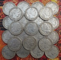 Wholesale Barber Dollars - (1892-1909)-O Barber Half Dollars COIN COPY High Quality(18 pieces) Wholesale Hot selling High Quality old style Copy coin Free shipping