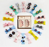 Magnetic Cute 3D Cartoon Earphone Wire Cord Cable Organizer Holder Casque USB Cable Clips With Retail Package