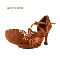 Wholesale Salsa Dance High Heels Shoes - Quality dance Latin Danc shoes for women zapatos de baile latino latin dance shoes girls ballroom salsa dance shoes tenis feminino