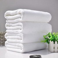 Wholesale White Terry Towels - Chinese Manufacturer 100% Cotton Custom White Terry Hotel Bath Towel