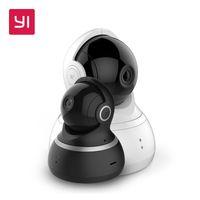 gece görüş dome ip kamera toptan satış-YI Dome Kamera 1080 P Pan / Tilt / Zoom Kablosuz IP Güvenlik Gözetim Sistemi Komple 360 Derece Kapsama Gece Görüş AB / ABD