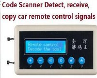 Wholesale car key scanner coding - 2017 Code Scanner Detect 315Mhz Remote Control Code Scanner(copier) Car key remote control Wireless Remote Key Code Scanner Detect