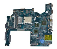 Wholesale amd laptop motherboards online - For HP Pavilion DV7 DV7 AMD Laptop Motherboard JBK00 LA P DDR2 S1 Notebook Systemboard