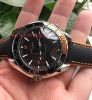 Wholesale Perfect Power - Luxury Automatic machinery Power Reserve 43mm 215.32.44.21.01.001 Black Nylon bracelet Perfect men watch
