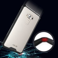 Wholesale Chinese Cushions Covers - For Asus Zenfone 3 ZE552KL Hybrid Shockproof Cover Air Cushion Case With Crystal Clear Hard Shell Coque Mask For Zenfone 3 5.5