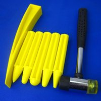 Wholesale Dent Hammer - Car Dent Repair Kit PDR Tools Rummber Hammer Tools Super Hammer Super Punches Pdr Tools Tips