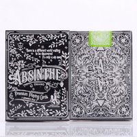 Опт-1 комплект Absinthe V2 ELLUSIONIST игральная карта Poker Magic Deck card magicTricks 83097
