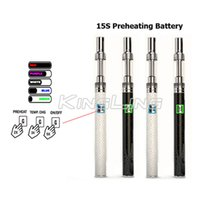 Vente en gros X8 320mah Battery 0.5ml Kits Vaporisateur BUD Starter Kit 320mah Vape Pen Cartridges Avec 0.5ml Atomizer 510 Ecigaretes