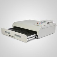 Wholesale Infrared Soldering Heater - Reflow Oven Infrared IC Heater 2500W SMD SMT BGA Soldering Machine Digital Control (400 x 600mm T962C Reflow Oven)
