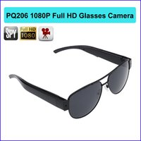 32 ГБ памяти Full 1080P HD Cam Eyewear Glass Video Camera Mini DV DVR 8GB Hidden Spy Sunglass Camera PQ206