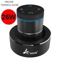 Wholesale Mp3 Resonance Speaker - Wholesale- Ses Sistemi 26W Powerful Super Bass HiFi Resonance Speaker Vibration Bluetooth AUX Full Range Speaker,Touch Subwoofer Speaker