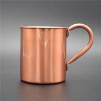 чистые медные чашки оптовых-Новые горячие продать чистые медные чашки восстановления древних путей является 100% чистая медь чайники коктейль стекло чашка кофе кружка