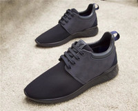 Wholesale Waterproof Casual Shoes For Men - with box 2017 Designer shoes Luxury men Run shoes Genuine Leather Casual Shoes for men Sneakers mens sneaker size 38-45