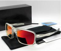 Wholesale Gafas Sport - 10 Colors 2017 NEW Men sports Triggerman sunglasses TR 90 FRAME polarized lens oculos ciclismo gafas de sol with box