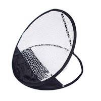 Wholesale cm Hot Sale New Portable Pop up Golf Chipping Pitching Practice Net Training Aid Tool Swing Sphere Target