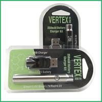 Wholesale custom pens wholesale - custom logo CO2 oil Vaporizer preheating variable voltage bud touch 510 battery button battery slim vape pen e cig vapor