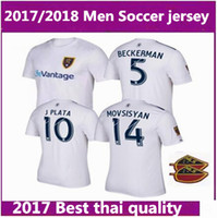 Wholesale Montreal Canada - NEW 2017 Real usa League Salt Lakes jersey United States Thai quality 17 18 Canada Montreal Impact Academy Football shirt