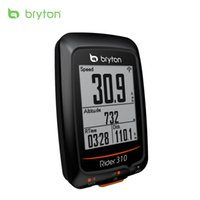 Wholesale bicycle bike gps - Bryton Rider 310 Enabled Waterproof GPS cycling bike mount wireless speedometer with bicycle garmin edge 200 500510 800810 mount