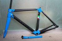 Wholesale Colnago Road Bicycle - New women Colnago c60 frame carbon bicycle frameset road bike Frame bicycle Blue glossy framset high quality