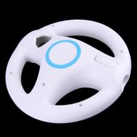 Wholesale Steering Wheel Kart Racing - Wholesale- NEW Game Racing Steering Wheel for Nintendo Wii Mario Kart Remote Controller In stock!