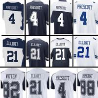 Wholesale Cowboys Elite - Men's Dallas #4 Dak Prescott 21 Ezekiel Elliott 88 Dez Bryant Jersey Men Elite Game Color Rush Stitched Jersey Cowboys Jerseys Top sales