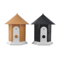 Barking House Outdoor Ultrasonido Anti Barking Stop Bark Ultrasonido Pet Dog Repeller Dispositivo de Entrenamiento de entrenamiento Control de corteza al aire libre Control
