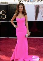 ingrosso premio oscar rosso tappeto-Sexy Prom Dresses della sirena Rose Maria Menounos Red Carpet 85 ° Oscar Oscar Awards Abiti da celebrità sexy