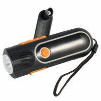 Wholesale Crank Dynamo Radio Torches - xln-704b High Quality Rechargeable Hand crank LED Outdoor Flashlight Torch Charger Dynamo AM FM Radio wholesale