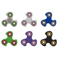Wholesale Wholesale Hot Wheels Toys - HandSpinner Spiral Fingers Gyro Torqbar Hot Wheel Fidget Spinner Acrylic Plastic Fidgets Toys Decompression Toys OTH403