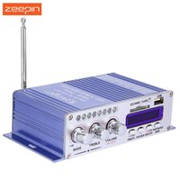 Wholesale Sd Sound Digital Amplifier - Zeepin Hi-Fi HY502 USB MP3 DVD CD FM SD Digital Player for Motorcycle Auto Stereo Power Amplifier Sound Model Audio Music Player