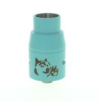 ingrosso blu mods box-Wholesale- Blue Doge V4 DIY RDA Rebuildable Dripping Atomizzatore Dripper Enorme Serbatoio Vape per Meccanico Box Mod Vaporizzatore