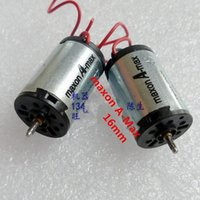 Wholesale High Speed Motors - Wholesale- 2pcs maxon A-Max 16mm 3v Low-voltage DC motor high speed motor free ship