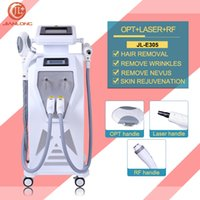 Wholesale Direct Selling Hot Sale Fda Autocollant Ordinateur Sume In Opt Shr Hair Removal Skin Rejuvenation Rf Nd Yag Laser Beauty Machine