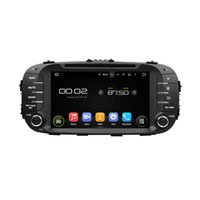 Wholesale Soul Bluetooth - Free shipping 8inch HD Screen Android5.1 Car DVD player for Soul with GPS,Steering Wheel Control,Bluetooth, Radio