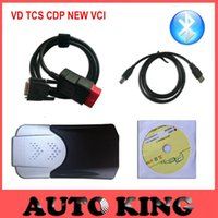 Wholesale Truck Diagnostic Sale - Wholesale- Factory Sale!! Best 2015.1 new vci with bluetooth vd tcs cdp pro for cars trucks auto diagnostic obd2 scan tool Free Ship